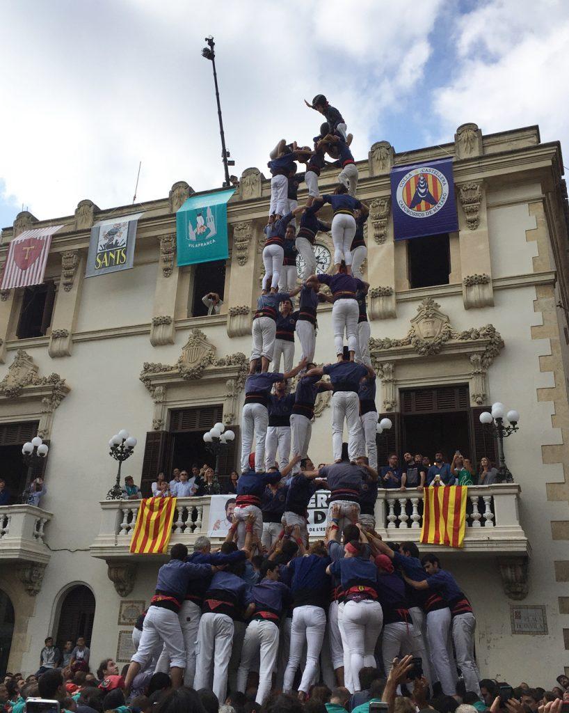 Els capgrossosdemataro tornen a descarregar un magnfic 5d9f Enhorabona!!! castellershellip